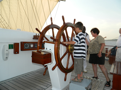 Royal Clipper Ships Helm