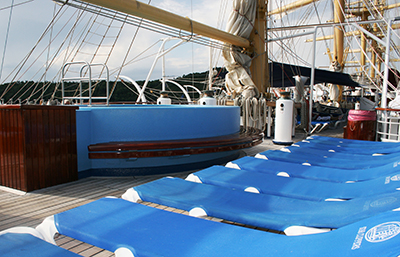 Royal Clipper Main Swimming Pool